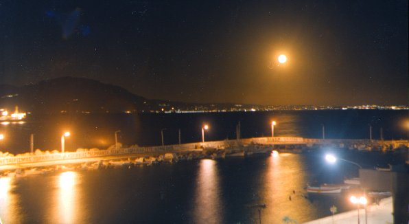 KIATO by night - part of the port